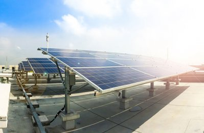 44 rooftop PV solar systems in Abu Dhabi