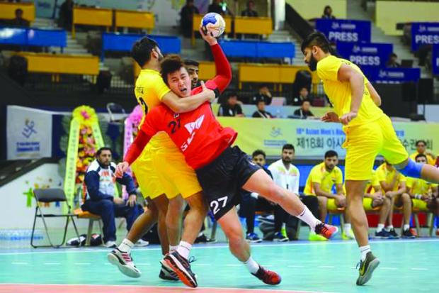 Omanis rout Australia in handball showdown