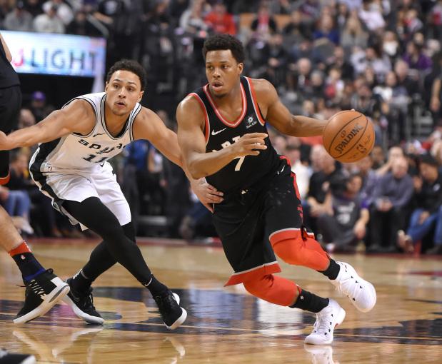 NBA: Raptors take care of Spurs at home