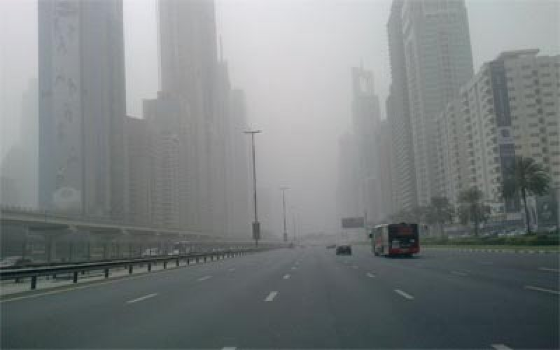 Road users, patients urged to be cautious as dust shrouds UAE