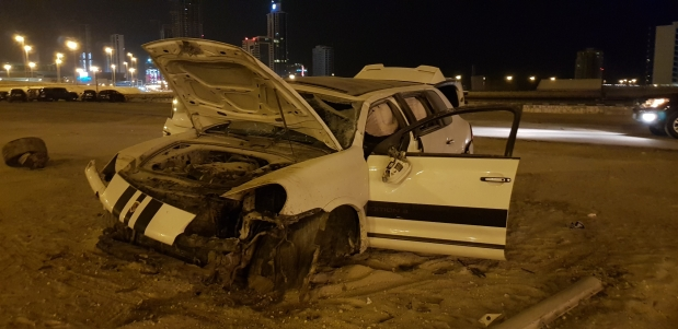 Drivers escape serious injury in three major accidents