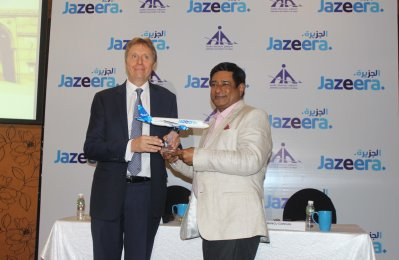 Jazeera launches flights to Kochi, Ahmedabad