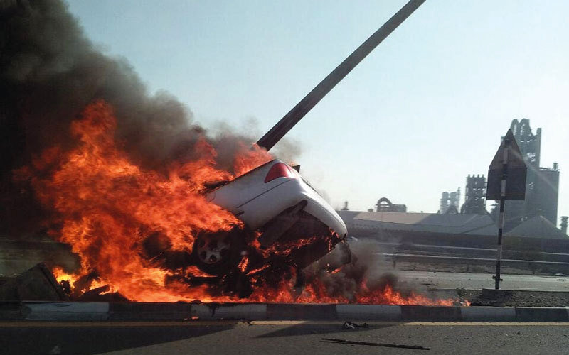 19-year-old Emirati killed in horrific accident