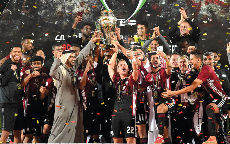 Al-Wehda lifts Year of Zayed Super Cup