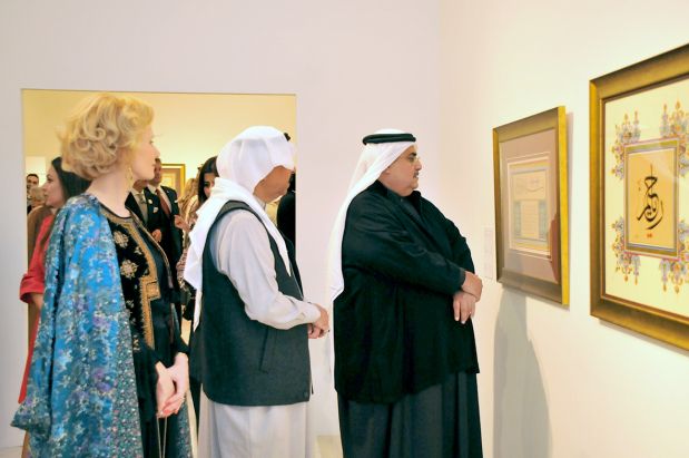 Beauty of Arabic calligraphy under the spotlight at expo