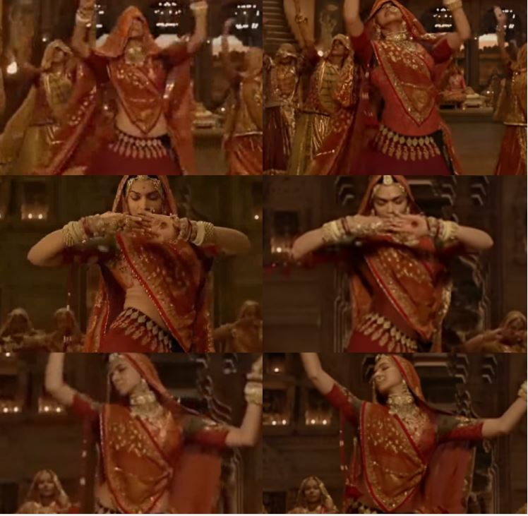 Padmaavat: Deepika Padukone's midriff gets covered in the Ghoomar song with CGI