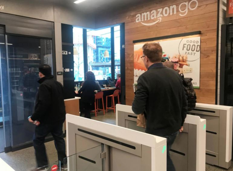 Amazons Automated Grocery Store Of The Future Opens Monday