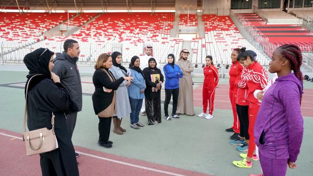 Bahrain athletics team ready for GCC women's tournament