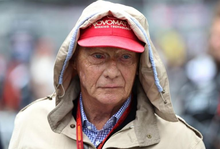 Ex-racing driver Lauda back at the controls of his airline Niki