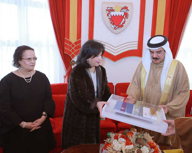 King Hamad praises role in preserving Bahrain's history and renovating heritage buildings