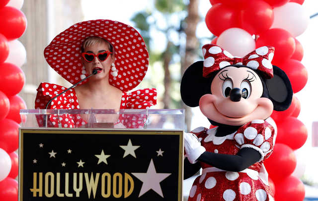 Minnie Mouse gets her star, a few decades after Mickey