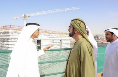 Dubai Creek Tower project work on track