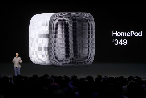 Apple launches HomePod voice speaker, takes on Google, Amazon