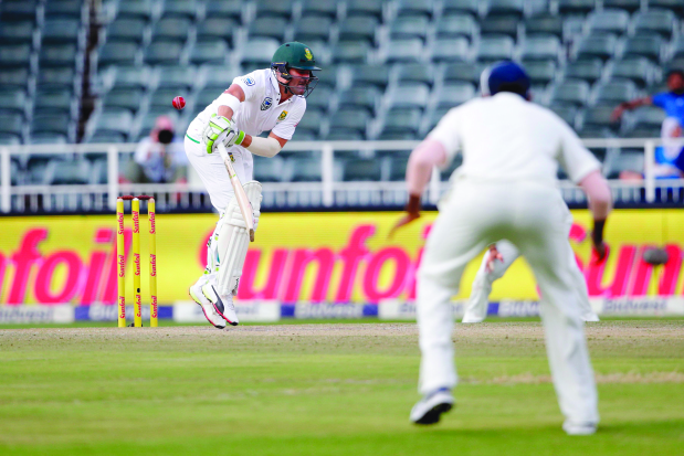 India-South Africa Test finely balanced