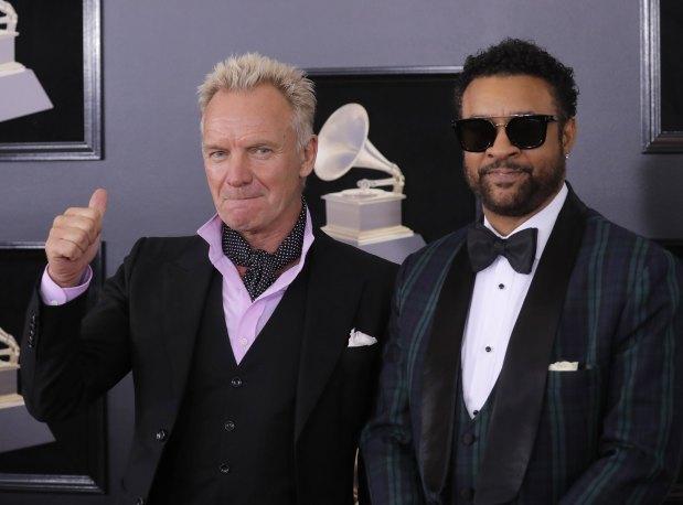 Celebs: Grammys Red Carpet: White roses for equality