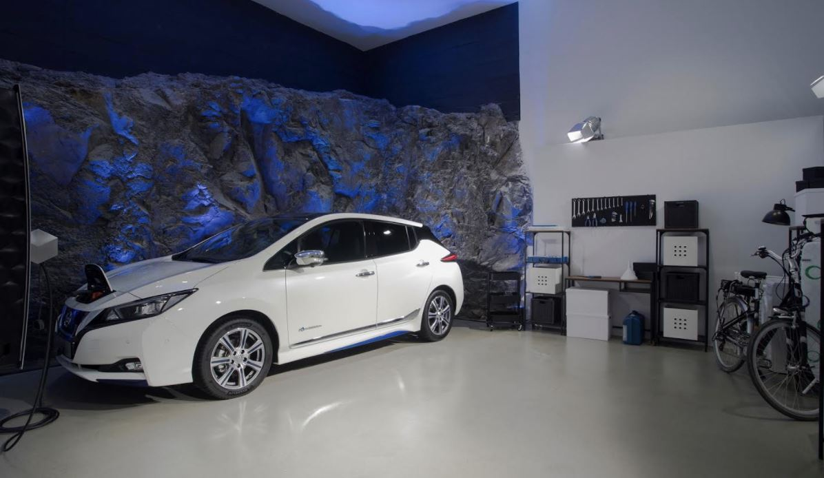 Nissan showcases Electric Ecosystem