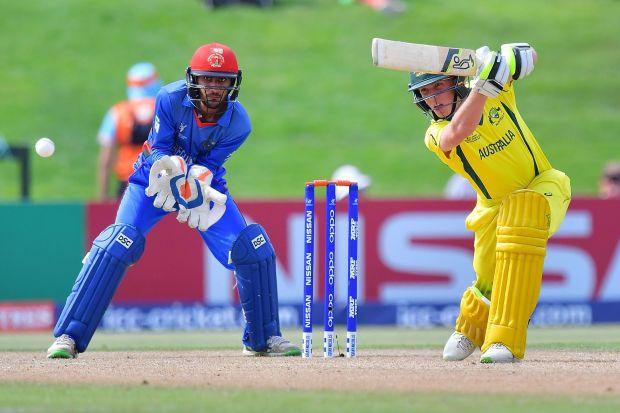 Australia end Afghanistan run to reach U-19 WCup final
