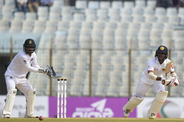 Sri Lanka in comfortable position against Bangladesh