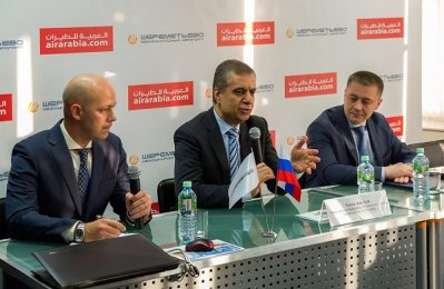 Air Arabia launches second flight to Moscow