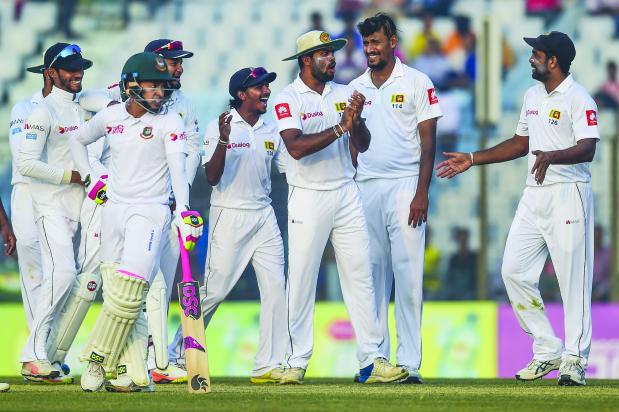 Bangladesh face a daunting task against Lankans