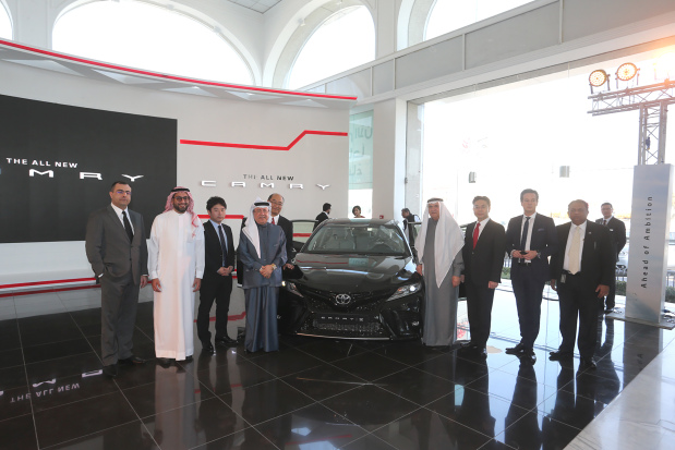 All-new Toyota Camry unveiled