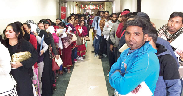 Hundreds of expatriates seek to benefit from amnesty