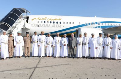 Oman Air celebrates delivery of new Boeing 737 MAX