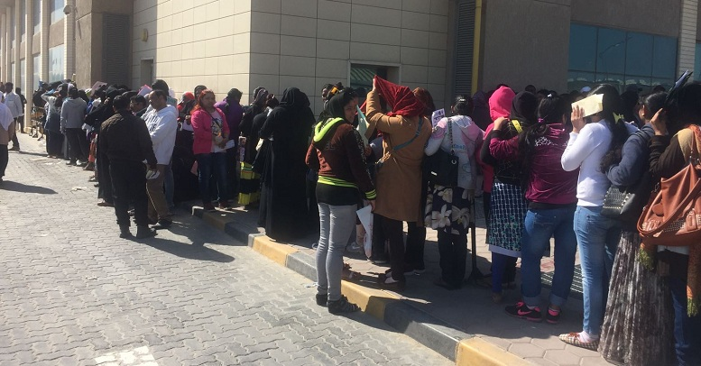 Over 3,500 illegal expats have left Kuwait