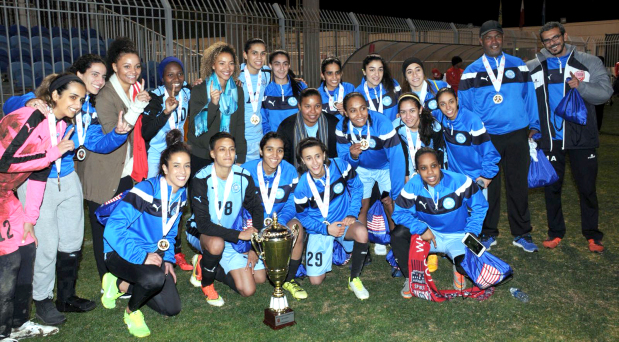 Blue Pearls win BFA Women's Cup