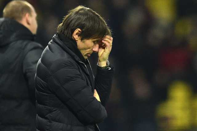Unconcerned Conte puts ball in Chelsea's court