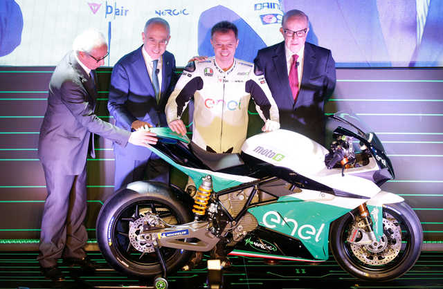 Other Sports: MotoGP unveils MotoE electric bike series from 2019