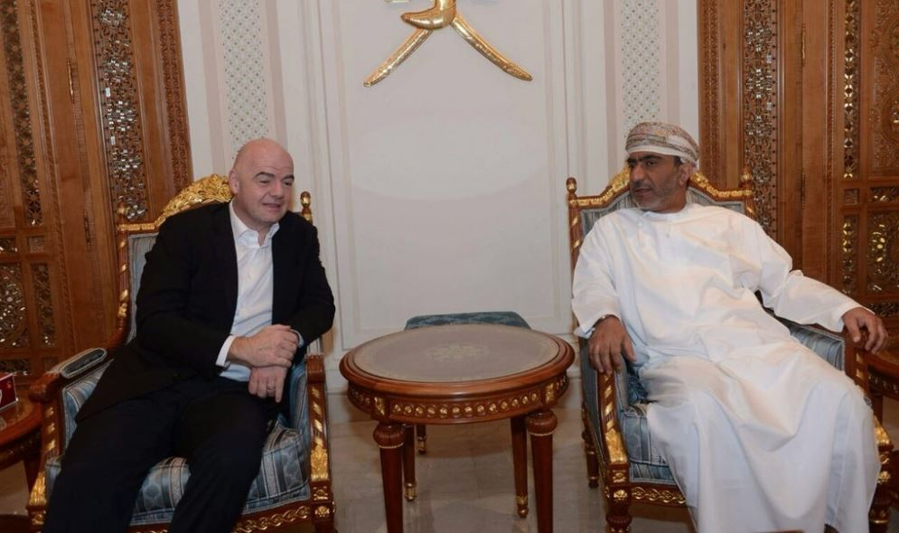 FIFA president arrives in Oman for executive summit