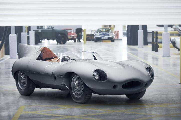 VIDEO: Jaguar restarts D-type production after 62 years