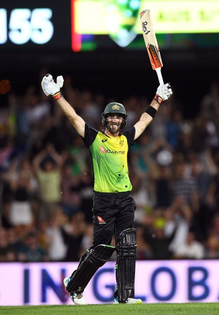 Maxwell century powers Australia to T20 win over England