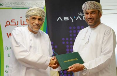Asyad, OFIC sign deal to develop Oman's food sector