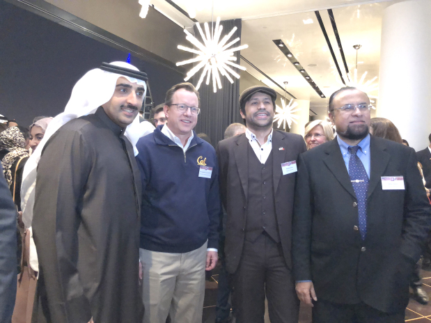 Alumni of American universities honoured