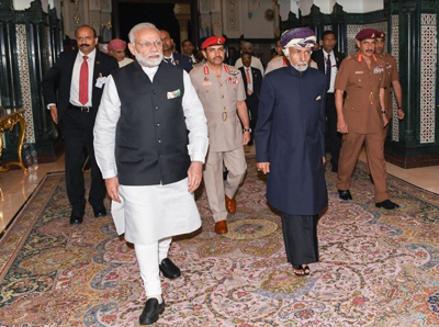 PICTURES: Omani leader and Indian PM hold talks; deals signed