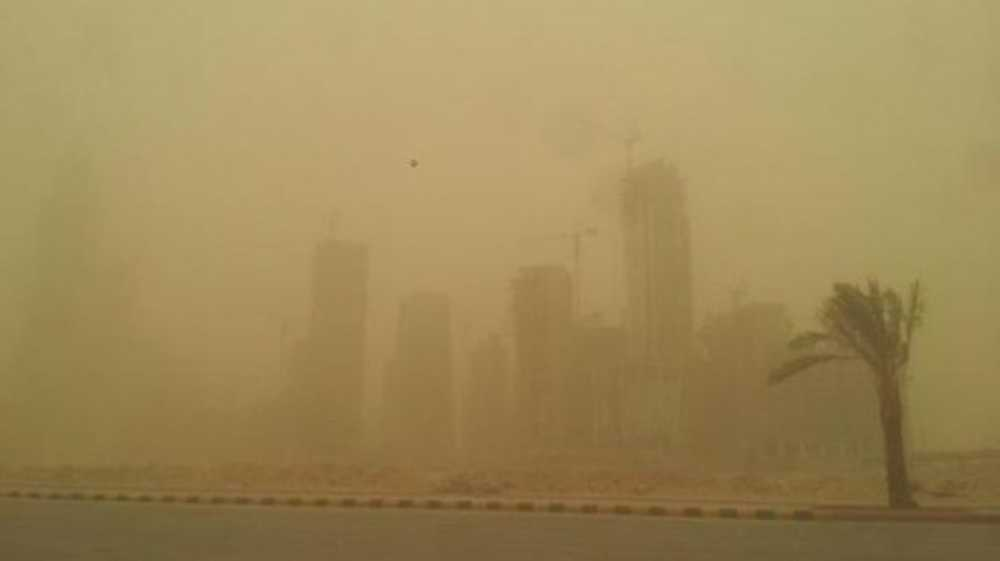 Turbulent weather, and sandstorms shut schools