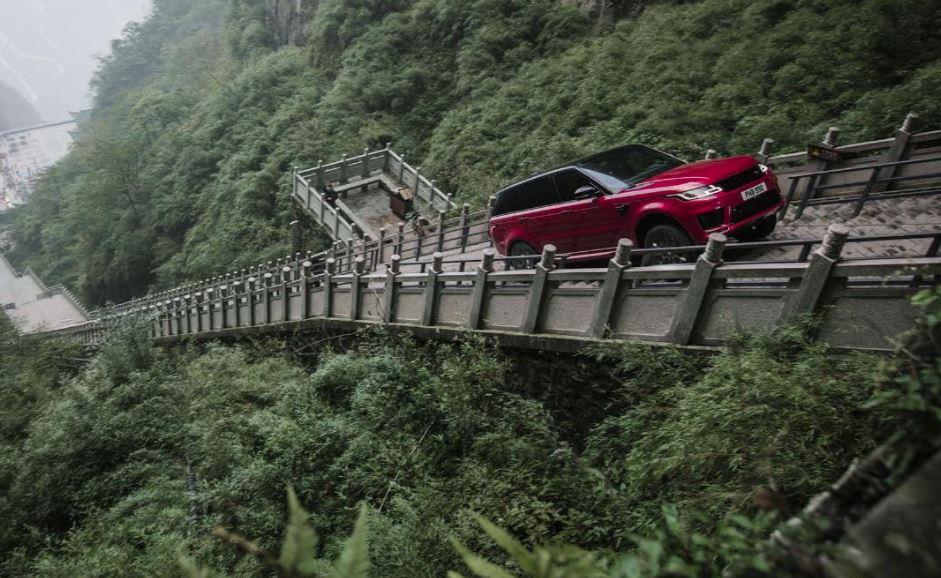 Range Rover Sport becomes first SUV to climb to Heaven's Gate