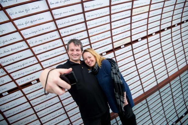 OMG: Couples make Valentine's Day deposit in 'Love Bank'