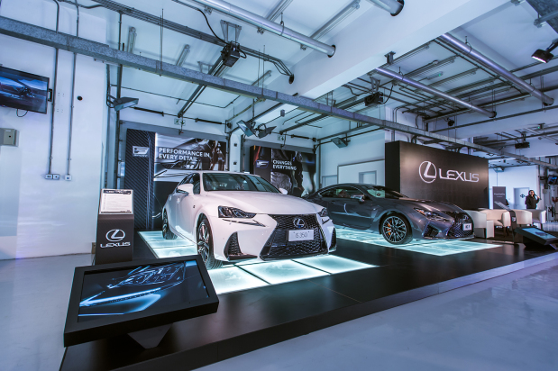 Race track fun for Lexus owners