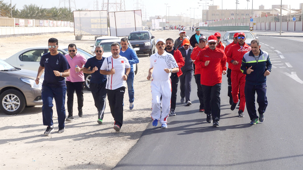 Local News: IN PICTURES: Thousands mark Bahrain Sports Day