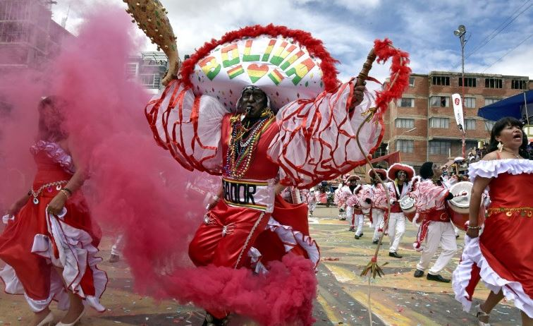Two killed in Bolivia blast at carnival time