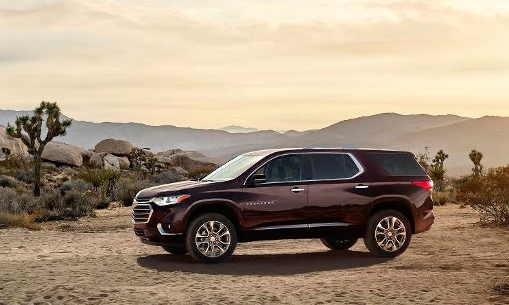 All new Chevrolet Traverse offers technology that is seamless and thoughtful