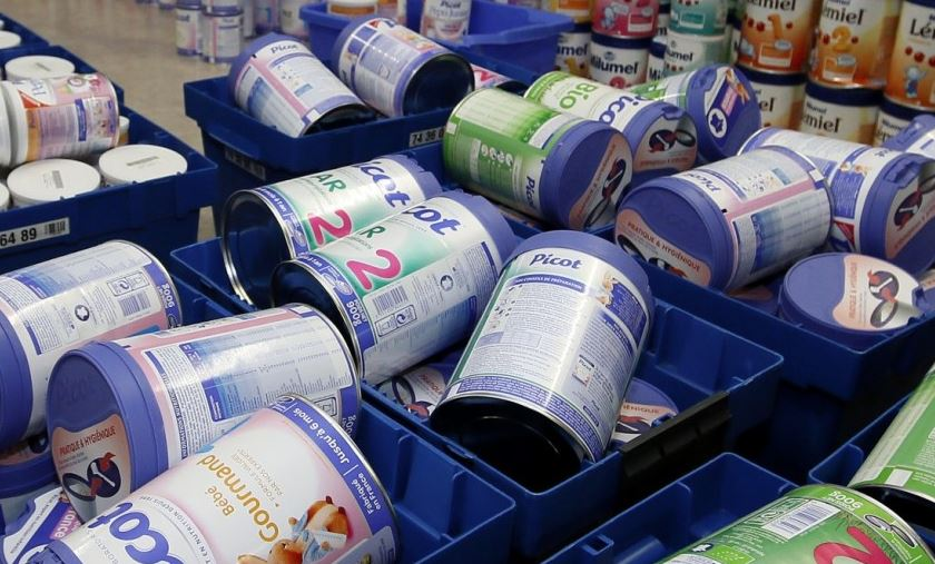 French retailers say they continued to receive Lactalis baby milk after recall