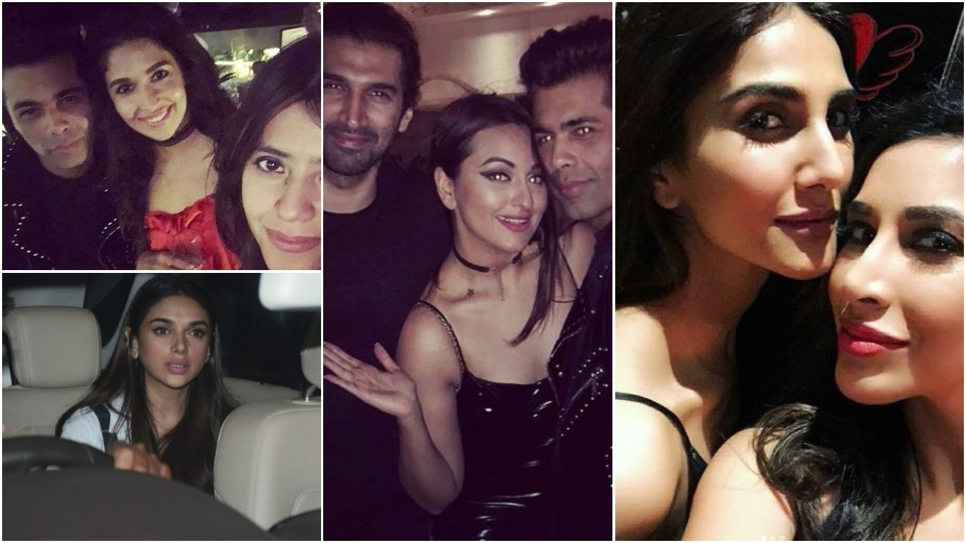 Bollywood: PHOTOS: Karan Johar's hosts 'Valentine's Day' party for his single friends