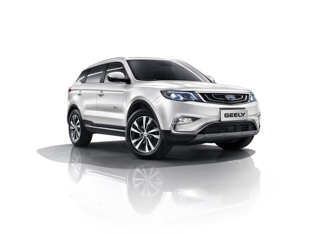 Record sales for Geely cars