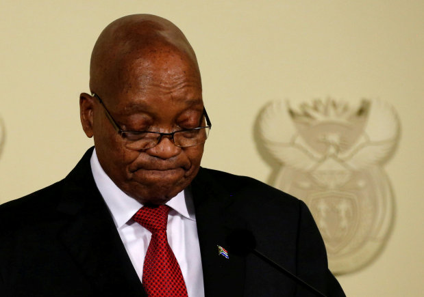 Zuma's reluctant exit ushers in new South African president