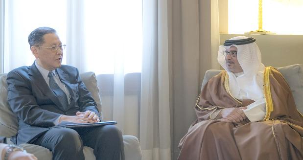 Photo Gallery: Crown Prince receives Japanese Ambassador