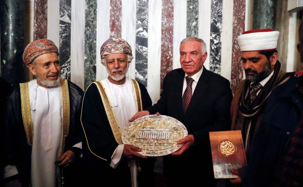 Oman: IN PICTURES: Oman's foreign minister visits Al Aqsa Mosque in Jerusalem